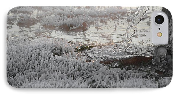 IPhone Case featuring the photograph White Ice by Linda Segerson