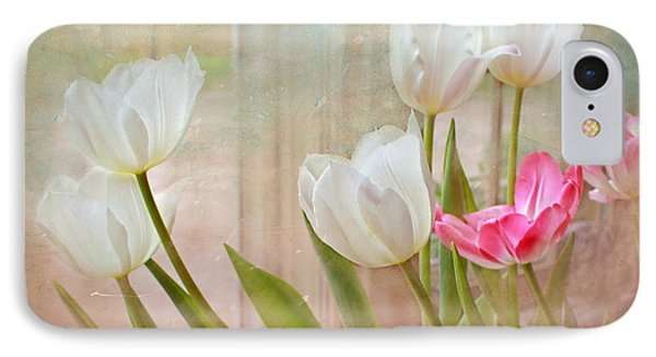 White Lily Show IPhone Case by Bonnie Willis