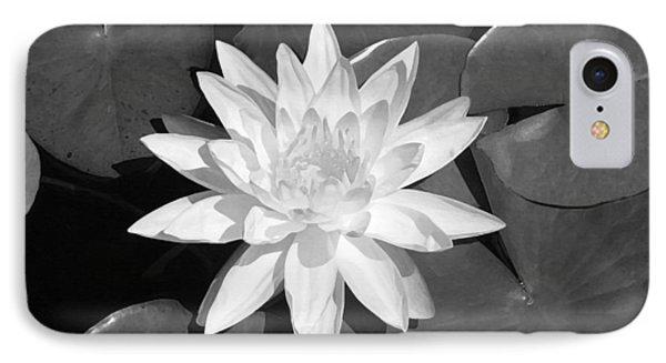 White Lotus 2 Phone Case by Ellen Henneke