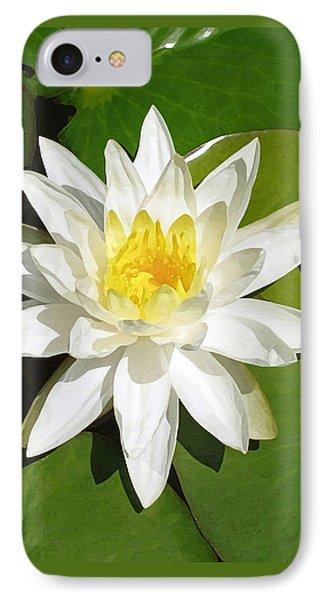 White Lotus 1 IPhone Case