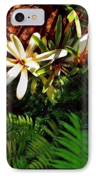 White Maui Flowers Phone Case by Joan  Minchak