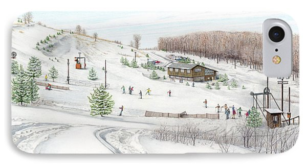 White Mountain Resort IPhone Case by Albert Puskaric