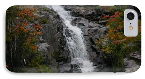 IPhone Case featuring the photograph White Mountain Water Fall  by Denyse Duhaime