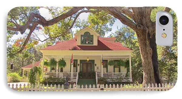 White Oak Manor Jefferson Texas Phone Case by Donna Wilson