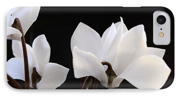 White On Black IPhone Case