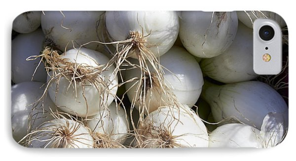 White Onions IPhone Case by Tony Cordoza
