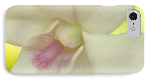 IPhone Case featuring the photograph White Orchid by Greg Allore