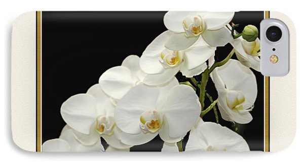 White Orchids II Phone Case by Tom Prendergast