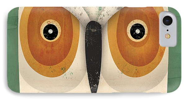 White Owl IPhone Case by Ryan Fowler