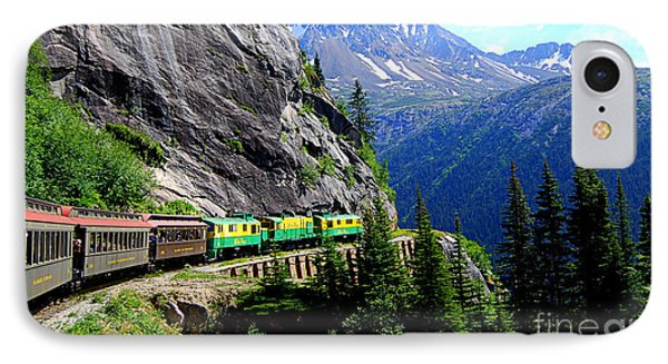 White Pass And Yukon Route Railway In Canada IPhone Case by Catherine Sherman