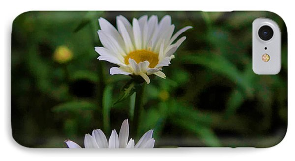 White Petals IPhone Case by Cherie Duran