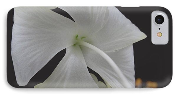 White Petals Phone Case by Rohit Jadav