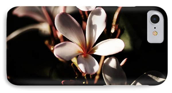 IPhone Case featuring the photograph White Plumeria by Angela DeFrias