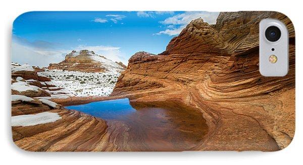 White Pocket Utah 2 IPhone Case by Larry Marshall