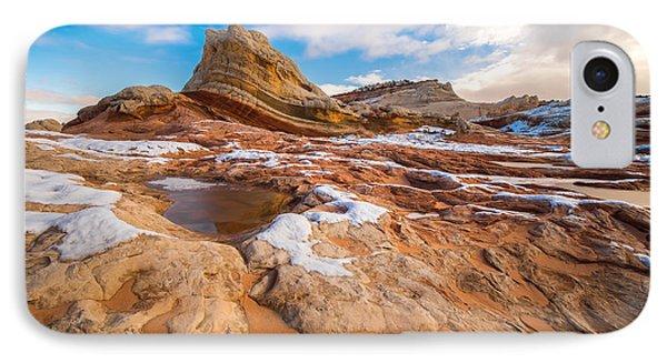 White Pocket Utah 3 IPhone Case by Larry Marshall