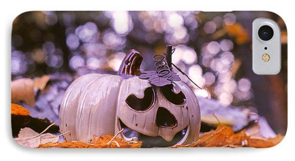 White Pumpkin IPhone Case by Aaron Aldrich