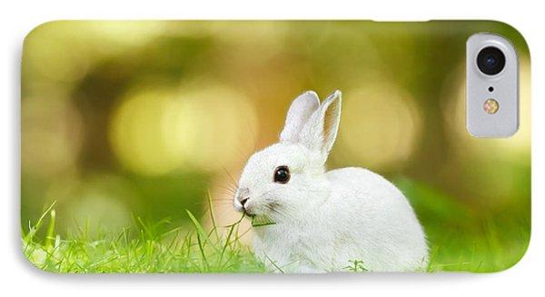 White Rabbit IPhone Case by Roeselien Raimond