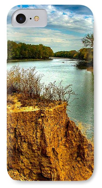 White River Erosion IPhone Case by Julie Dant