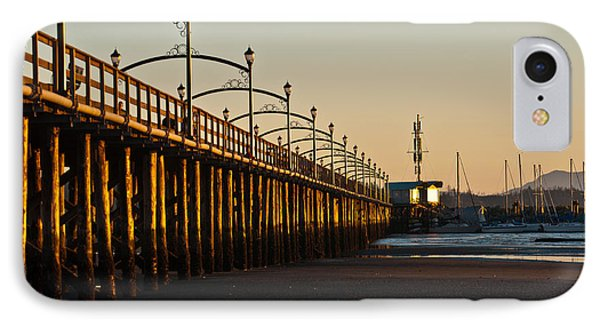 IPhone Case featuring the photograph White Rock Pier by Sabine Edrissi