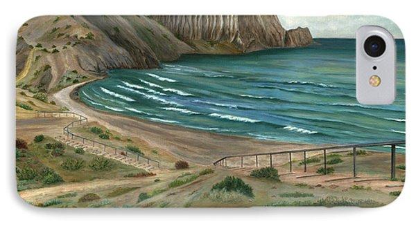 White Rock's Beach IPhone Case by Angeles M Pomata