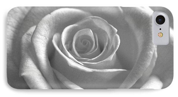 White Rose Glooming IPhone Case