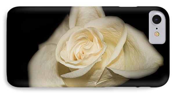 White Rose IPhone Case by Michael Waters