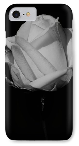 White Rose IPhone Case by Michelle Joseph-Long