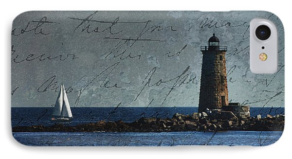 IPhone Case featuring the photograph White Sails On Blue  by Jeff Folger