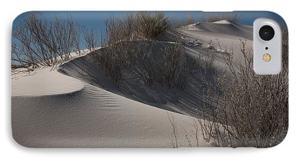 IPhone Case featuring the photograph White Sand Dune by Sherry Davis