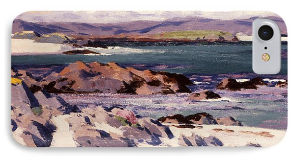 White Sands   Iona  IPhone Case by Francis Campbell Boileau Cadell