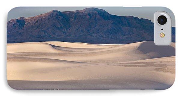 White Sands Dawn IPhone Case by Sandra Bronstein