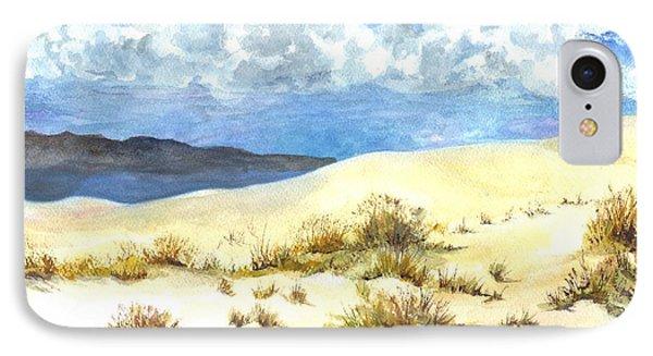 White Sands New Mexico U S A IPhone Case by Carol Wisniewski
