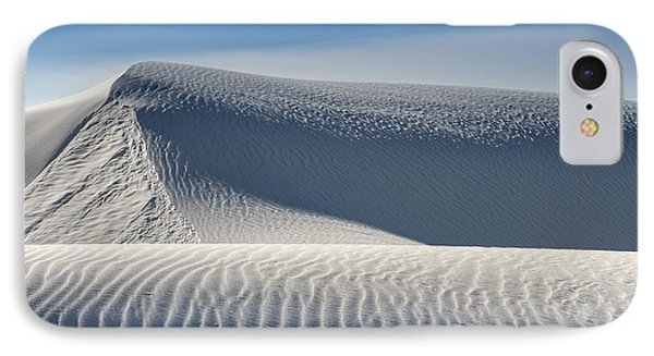 IPhone Case featuring the photograph White Sands Ridges by Kristal Kraft