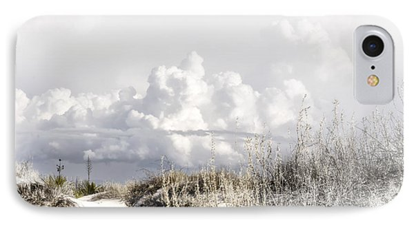 White Sands Winter IPhone Case