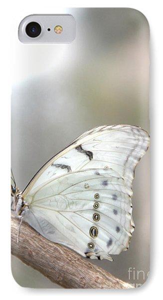 White Serenity IPhone Case