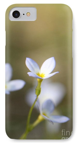 White Serenity Phone Case by Neal Eslinger