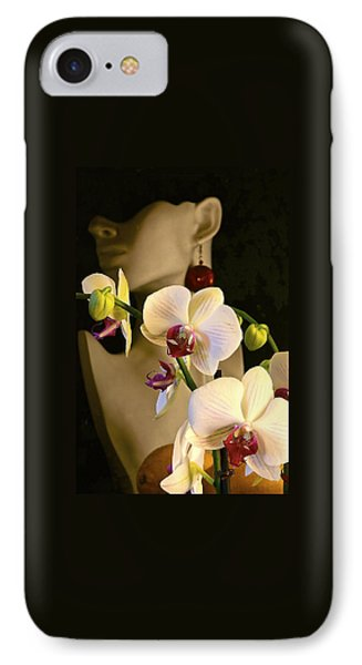 IPhone Case featuring the photograph White Shoulders by Elf Evans