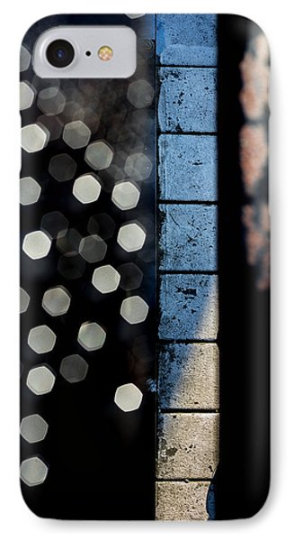 White Sneakers On The Edge IPhone Case by Bob Orsillo
