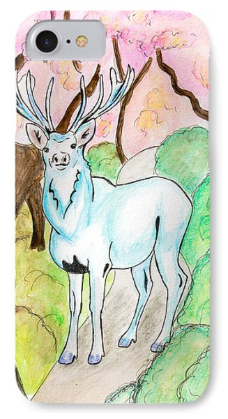 White Stag IPhone Case by Pati Photography