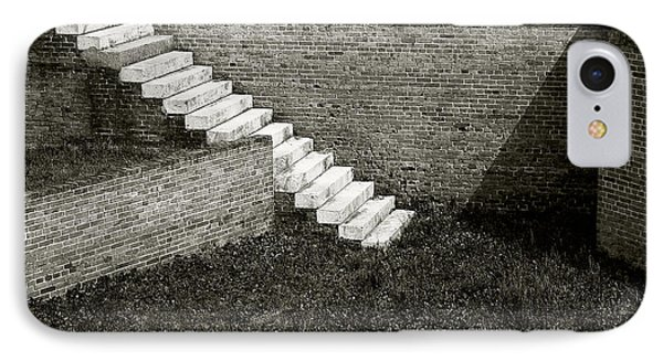 White Steps At Fort Barrancas IPhone Case