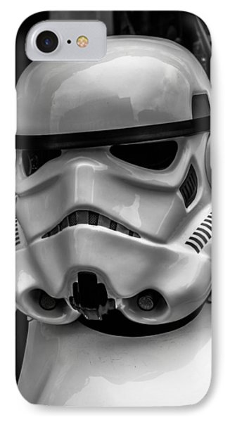 White Stormtrooper Phone Case by David Doyle