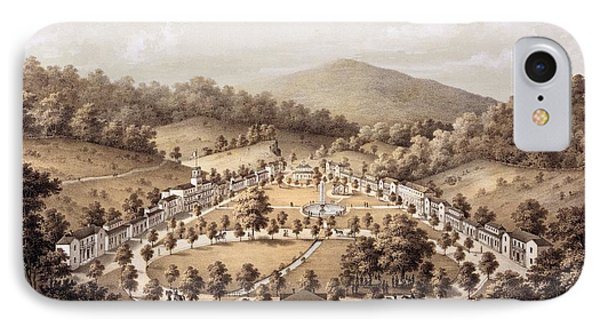 White Sulphur Springs, Montgomery County, Va IPhone Case by Edward Beyer