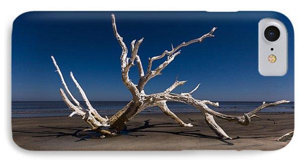White Tree Phone Case by Debra and Dave Vanderlaan