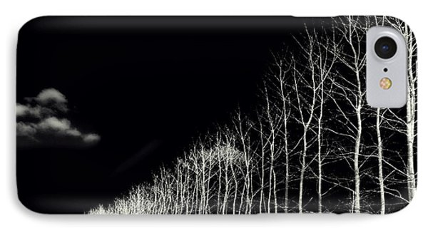White Trees Phone Case by Stelios Kleanthous