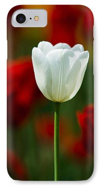 White Tulip - Featured 3 Phone Case by Alexander Senin