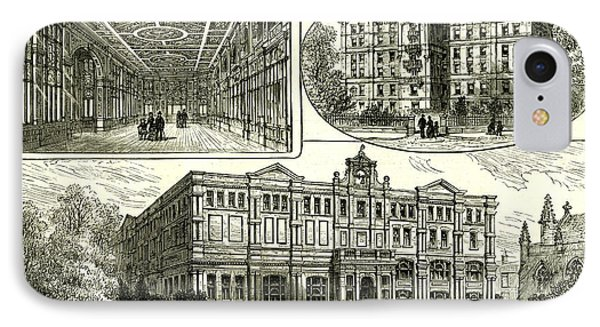 Whitechapel London U.k IPhone Case by English School