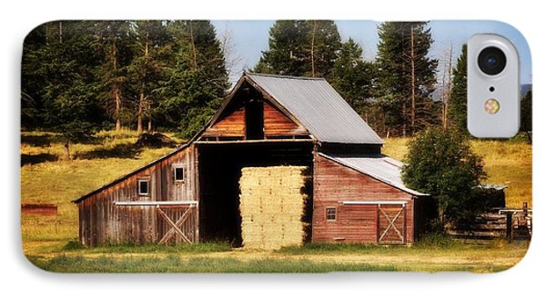 Whitefish Barn Phone Case by Marty Koch