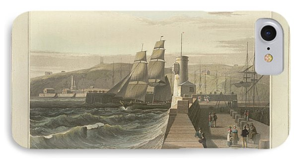 Whitehaven Port In Cumberland IPhone Case by British Library