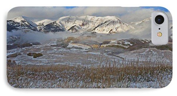 Whiterock Winter Mist IPhone Case