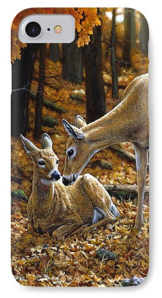 Whitetail Deer - Autumn Innocence 2 IPhone 7 Case